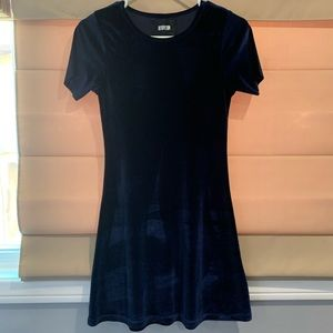 NWOT velvet reformation mini dress